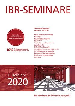 1. Halbjahr 2020 | id Verlags GmbH | Mannheim